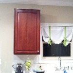 Easy $8 Kitchen Curtain
