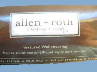 allen & Roth beadboard wallpaper