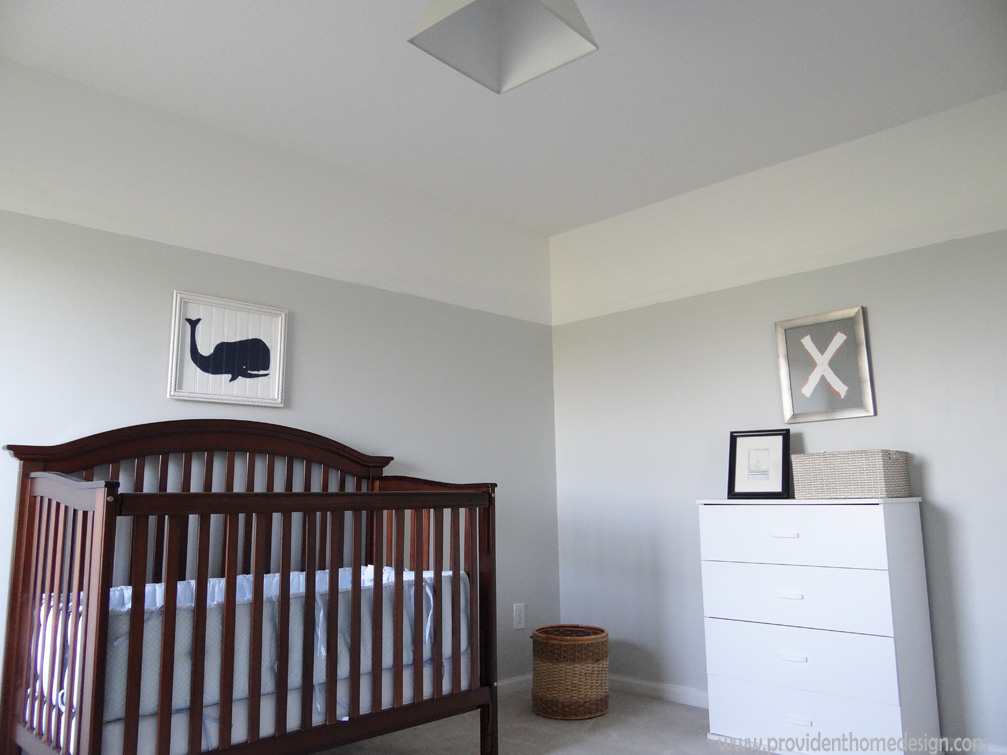 boy nursery & Pottery Barn Kids Knockoff Wall Art - Provident Home Design