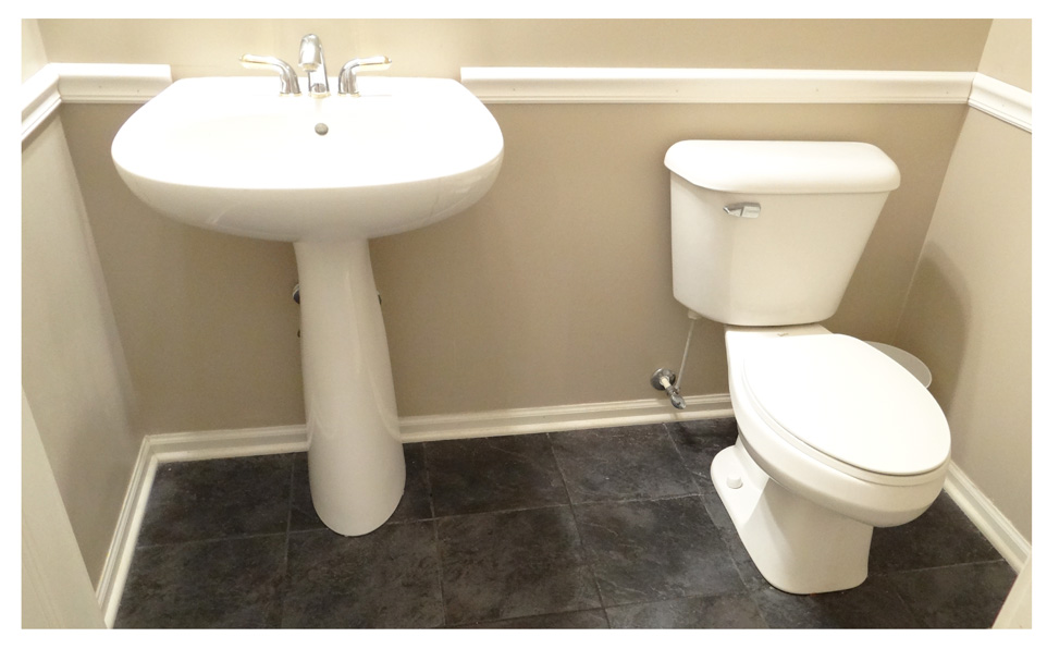 Chair Rail In Bathroom Part - 38: ... Chair Rail On All Sides