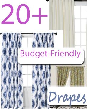 20+ Budget Drapes