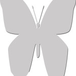 Butterfly #1 Template
