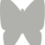 Butterfly #2 Template