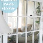 DIY Mirrored Window Pane