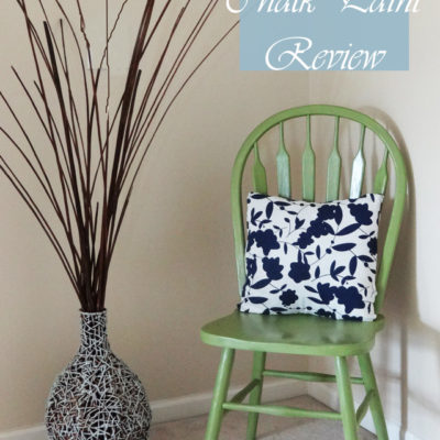 Chair Makeover & Americana Chalk Paint Review