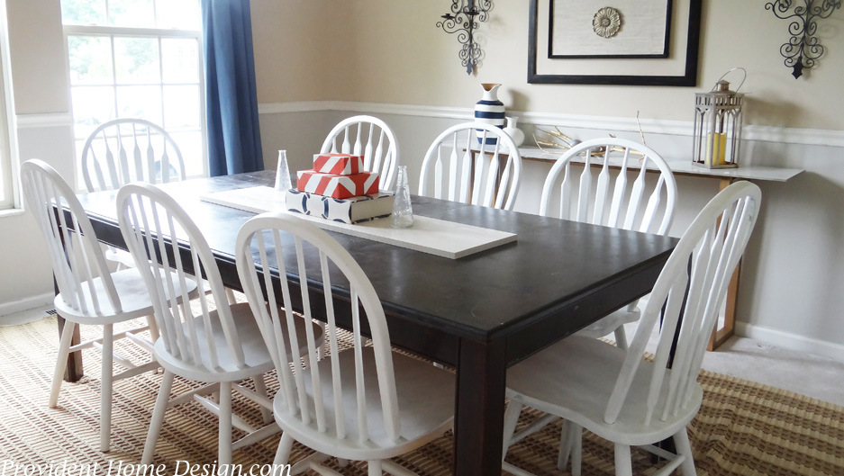 Dining Room Summer Decor