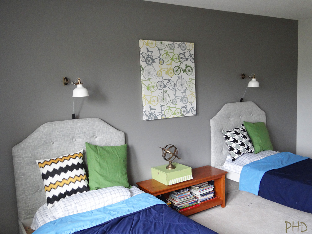 Boys Budget Bedroom Makeover