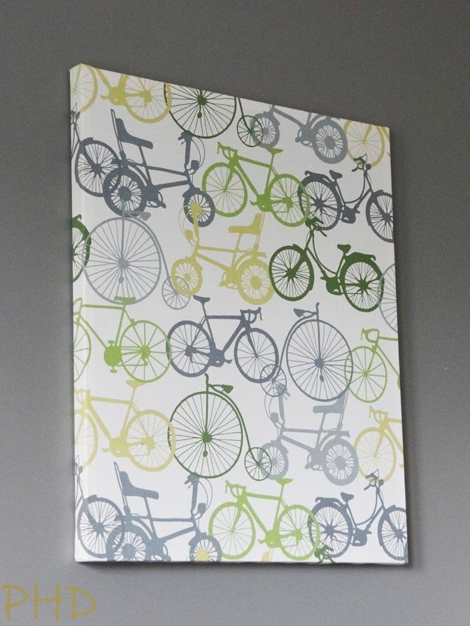 Diy Stretched Fabric Wall Art
