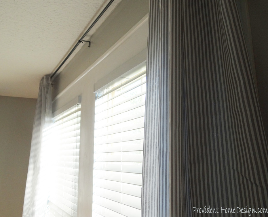 DIY Faux Window Casings