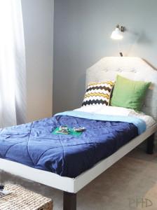 DIY wood bedframe