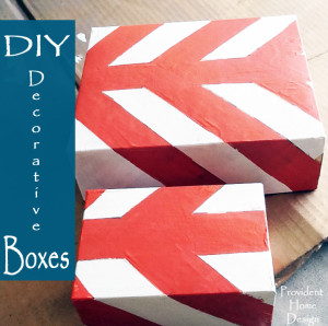 DIY Decorative Boxes