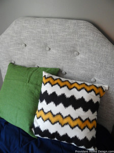 diy most inexpensive tufted headboard