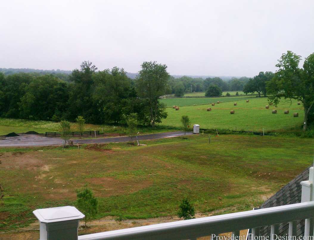 view from master balcony