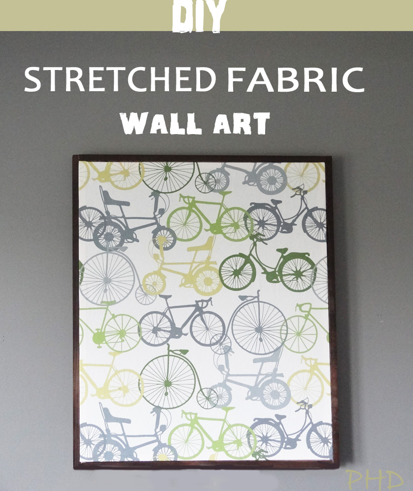 DIY Stretched Fabric W...