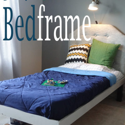 DIY Wood Bedframe in 5 Easy Steps