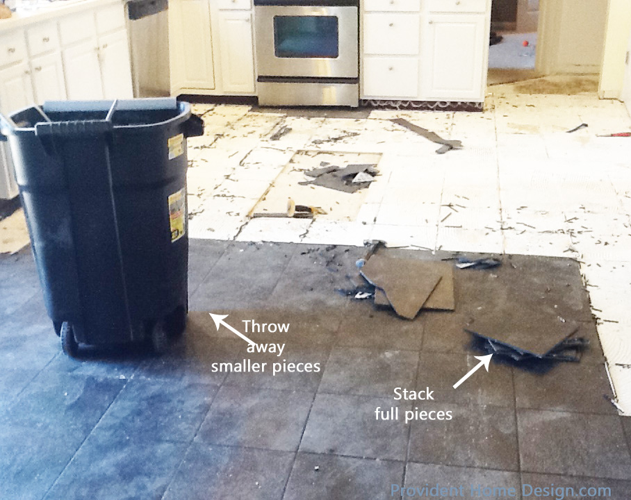 Tile Disposal