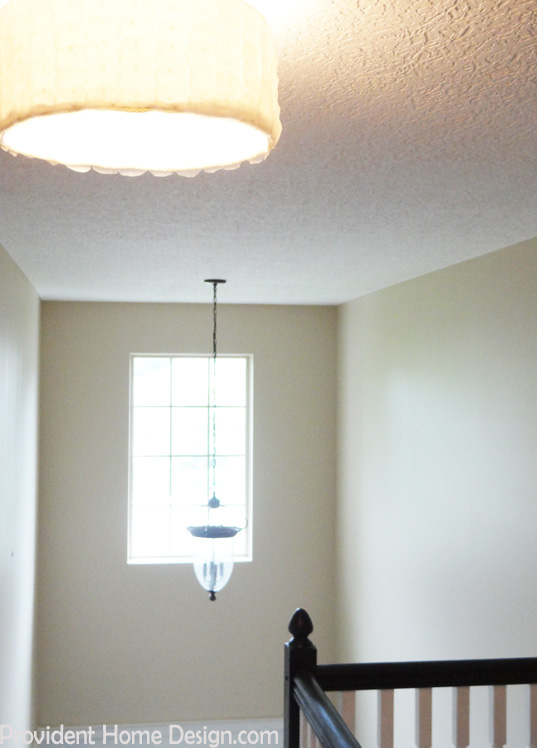 DiY Semi Flush Mount Light Fixture