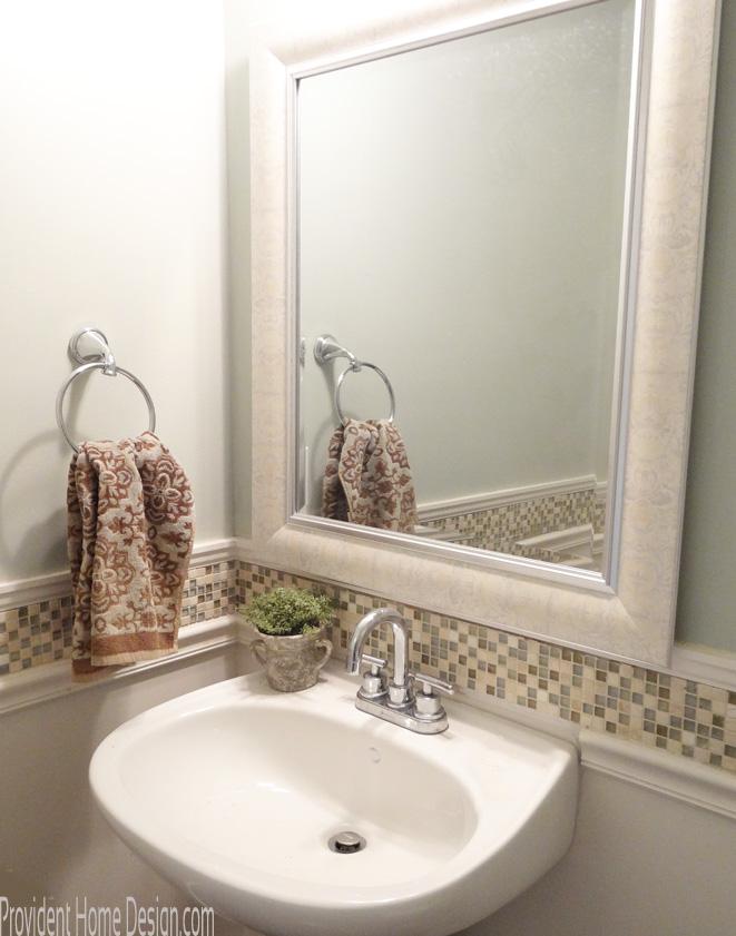 Powder Bathroom Mirror
