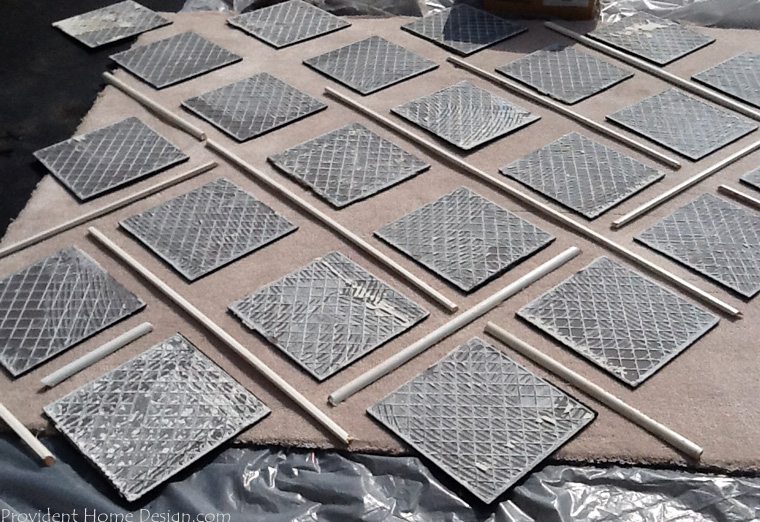 create pattern for diy painted rug