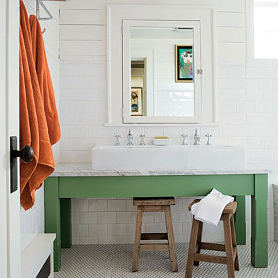 elements of a stylish kids bathroom