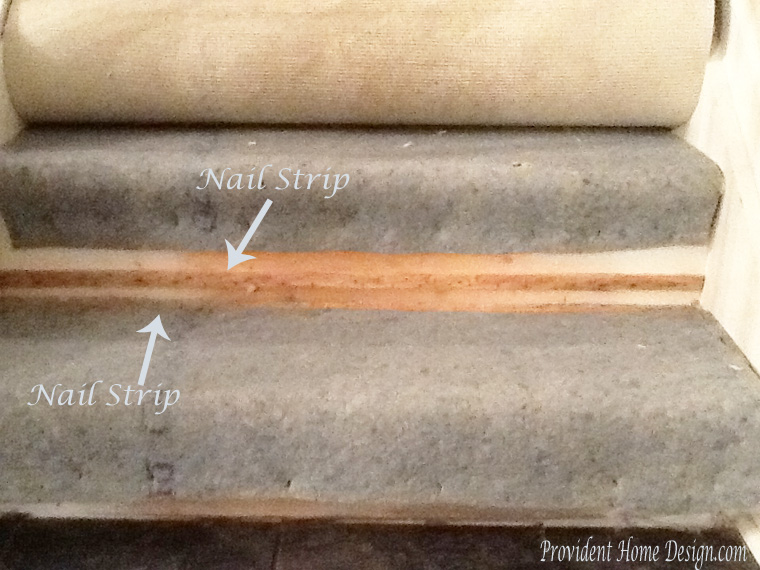 how to pull up carpet on stairs2