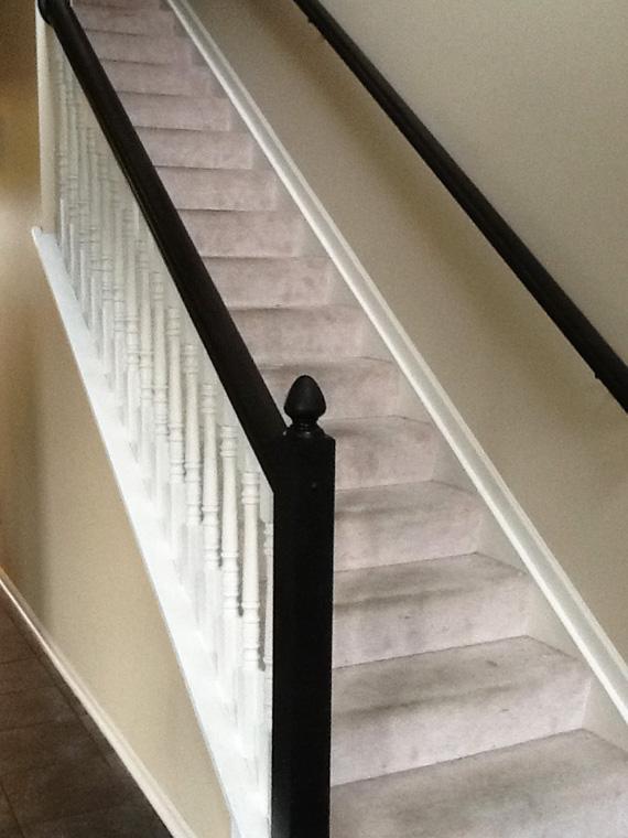 staircase before runner
