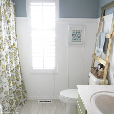 Kids and Guest Bathroom Reveal