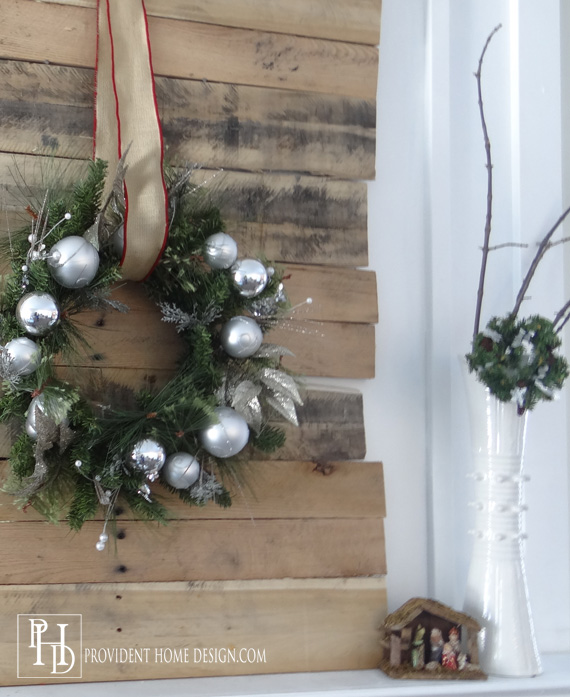 Christmas Mantle Decorations 2