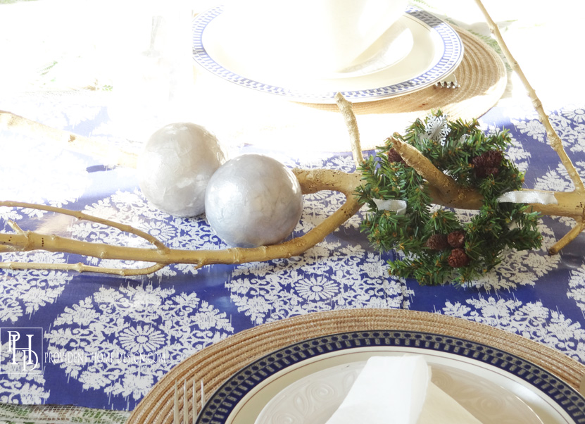Coastal Centerpiece for Christmas
