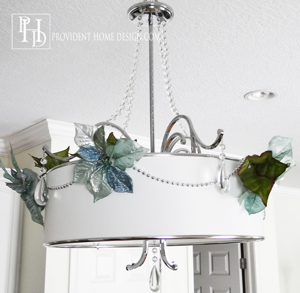 Decorating Chandeliers for Christmas