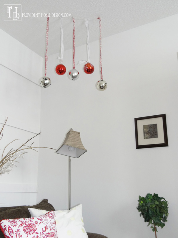 Hanging Ornaments from the Ceiiling