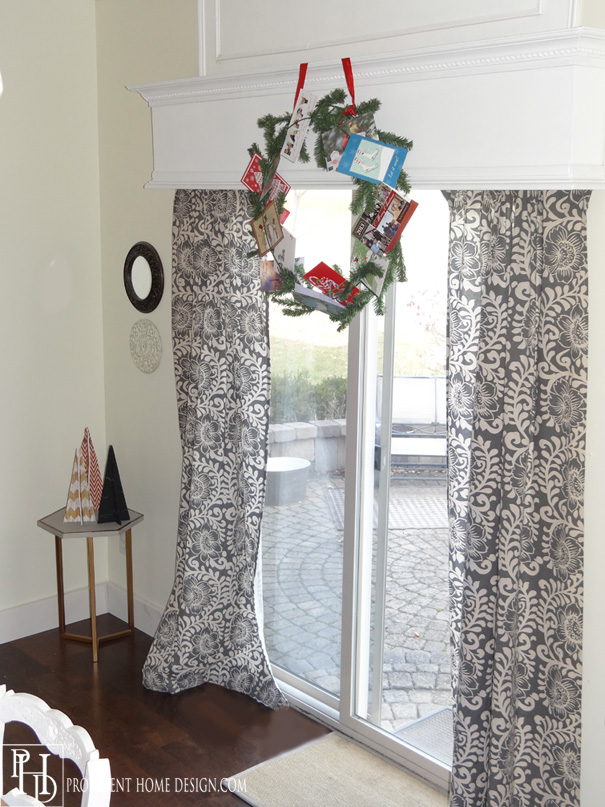 How to Display Christmas Cards