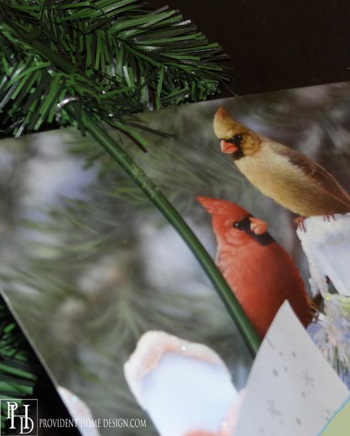 Make a Wreath Card Holder