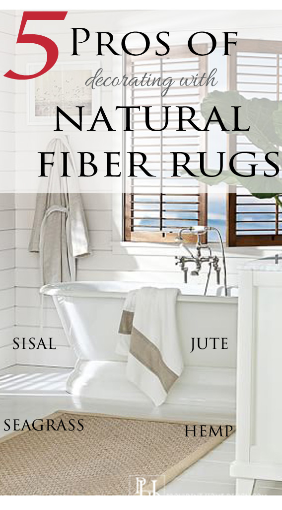 5 Pros of Decorating with Natural Fiber Rugs