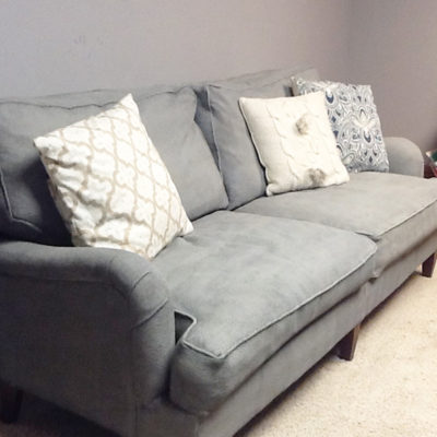 Couch Makeover & DIY Chalk Paint