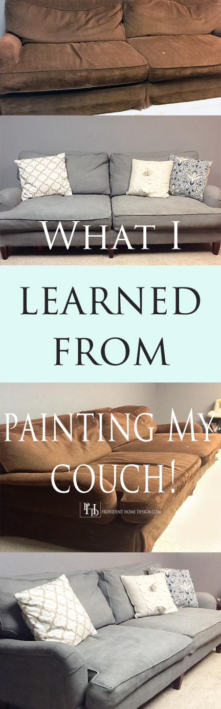 What I Learned From Painting My Couch