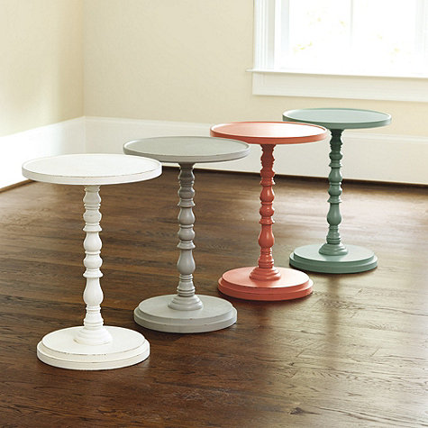Ballard Designs Pedestal Side Tables