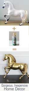 DIY Spray Painted Horse