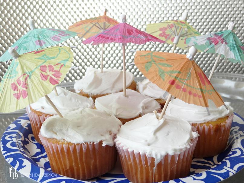 Pina Colada Cupcakes Dessert