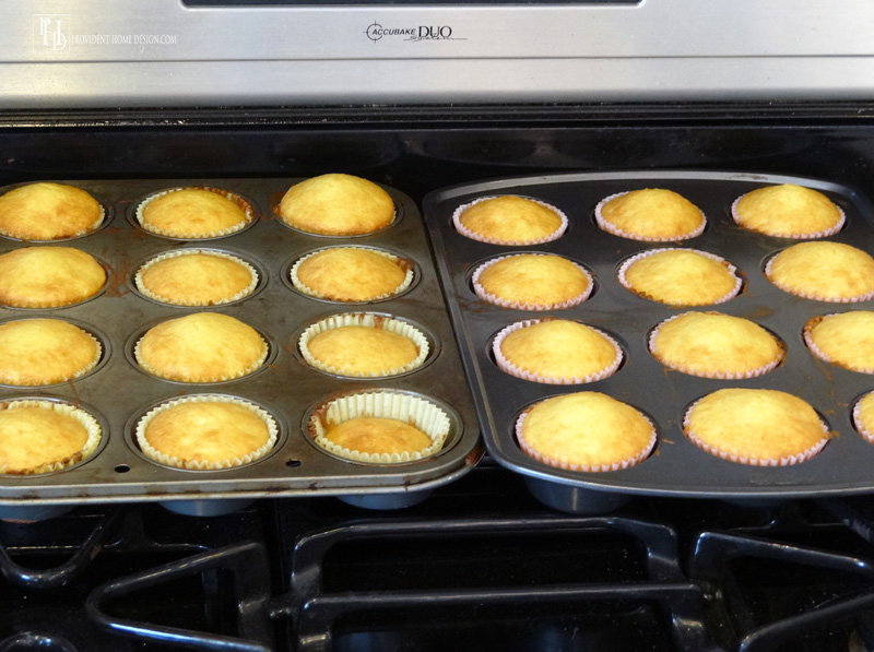 Pina Colada Cupcakes Instructions