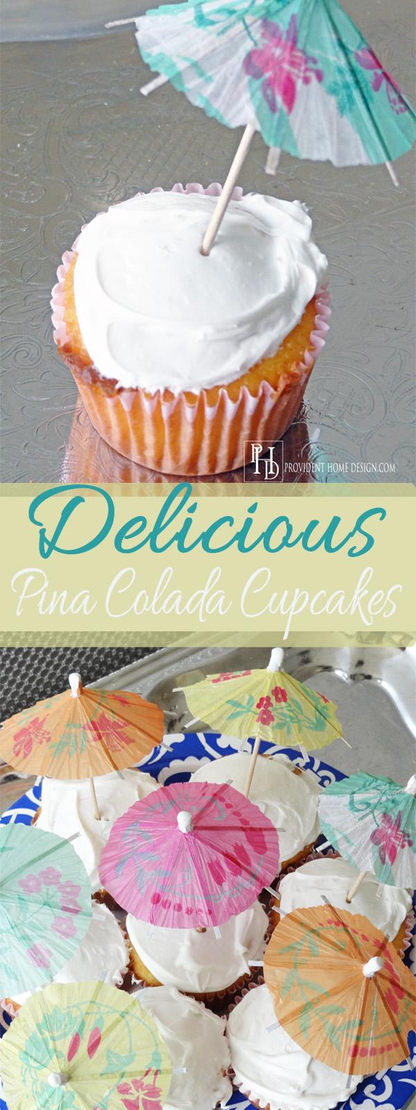 Pina Colada Cupcakes Pinterest