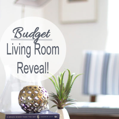 Living Room Makeover Reveal