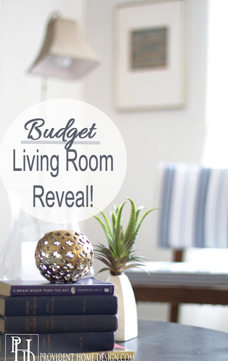 Budget Living Room Makeover Reveal