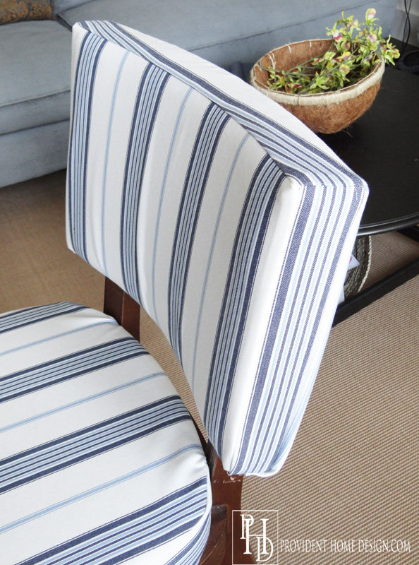 How to Reupholster a Side Chair