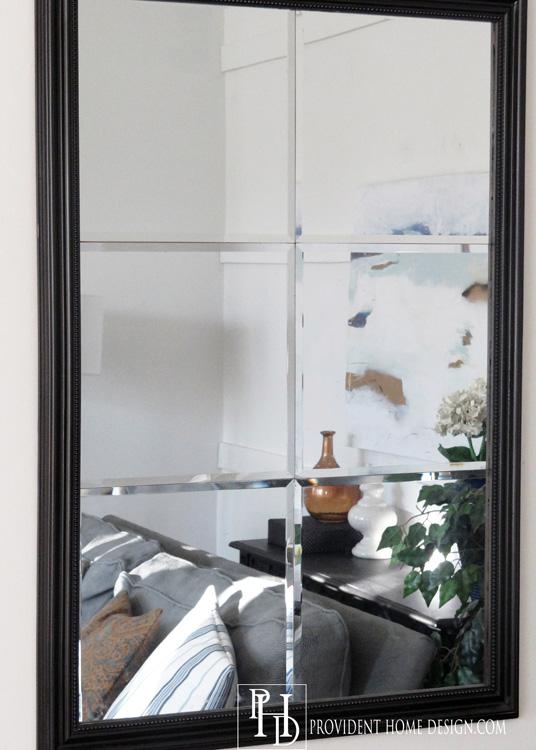 Living Room Makeover DIY Mirror