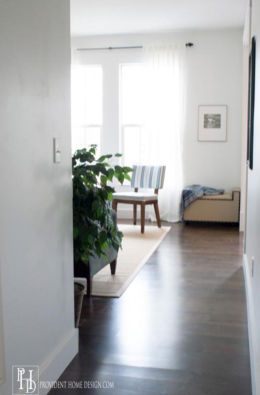Living Room Makeover Hallway