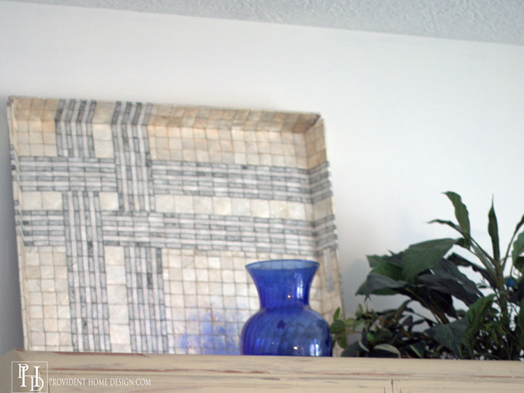 Living Room Makeover Tray