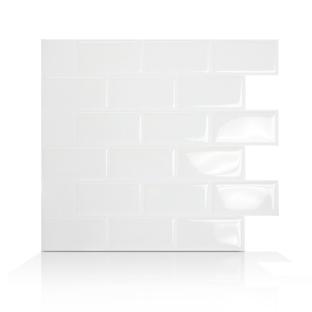 White Subway Tile-Smart Tiles