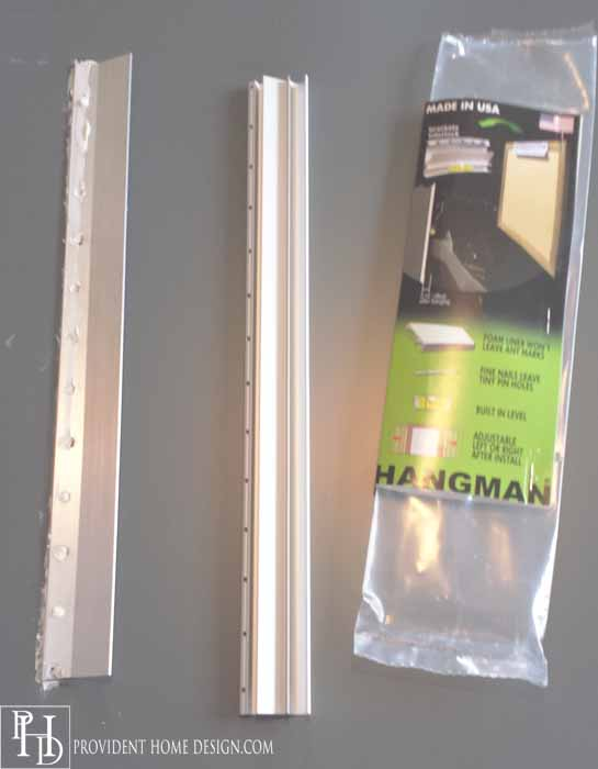 Cleat System for Hanging Mirror