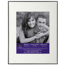 Matted Frame Option